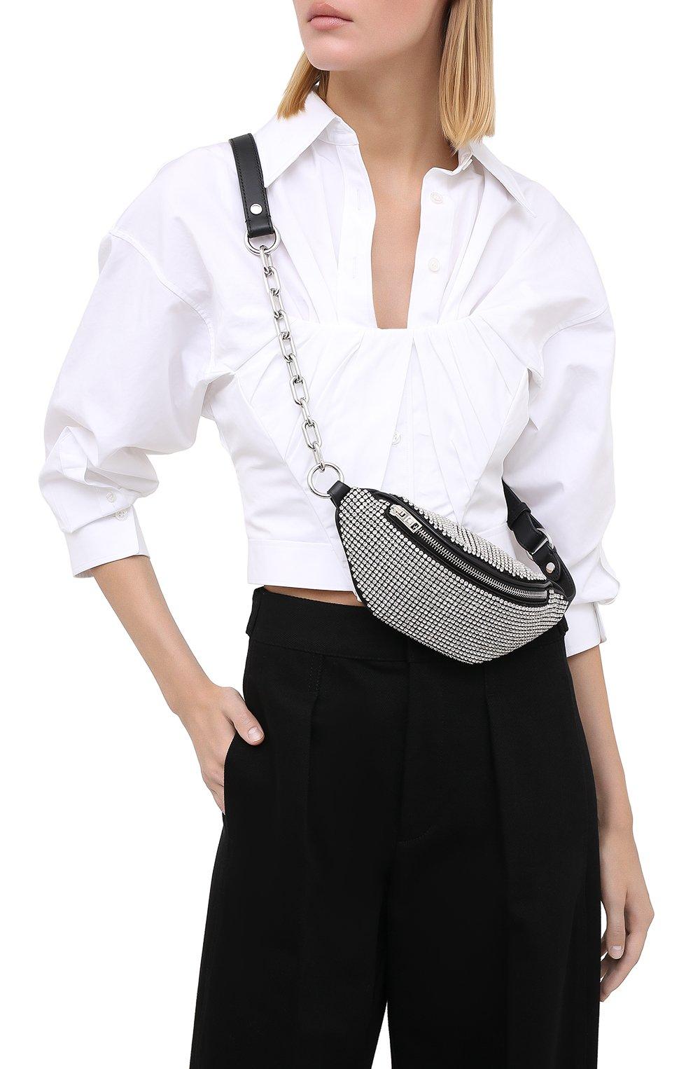 Женская поясная сумка attica ALEXANDER WANG белого цвета, арт. 2030X0823J | Фото 5