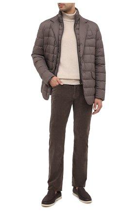 Мужской хлопковые брюки JACOB COHEN коричневого цвета, арт. J688 C0MF 08805-V/54 | Фото 2
