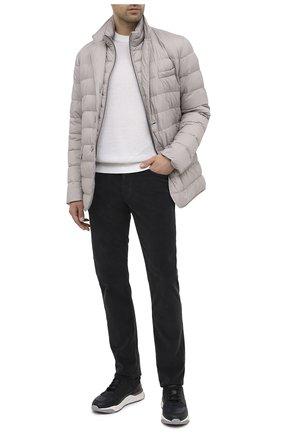 Мужской хлопковые брюки JACOB COHEN черного цвета, арт. J688 C0MF 08805-V/54 | Фото 2