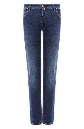 Мужские джинсы JACOB COHEN синего цвета, арт. J688 C0MF 08364-W2/54 | Фото 1