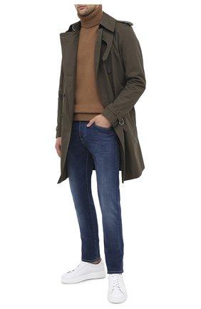 Мужские джинсы JACOB COHEN синего цвета, арт. J688 C0MF 08364-W2/54 | Фото 2