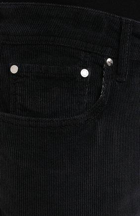 Мужские хлопковые брюки JACOB COHEN черного цвета, арт. J688 C0MF 02077-V/54   Фото 5