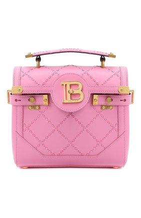 Женская сумка BALMAIN розового цвета, арт. UN1S501/LMCR | Фото 1