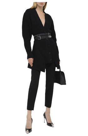 Женские шерстяные брюки RALPH LAUREN черного цвета, арт. 290618874 | Фото 2