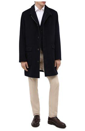 Мужской кожаные дерби H`D`S`N BARACCO темно-коричневого цвета, арт. 80216.L.0* | Фото 2