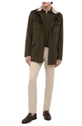 Мужские кожаные пенни-лоферы H`D`S`N BARACCO темно-коричневого цвета, арт. 80423.C.2* | Фото 2