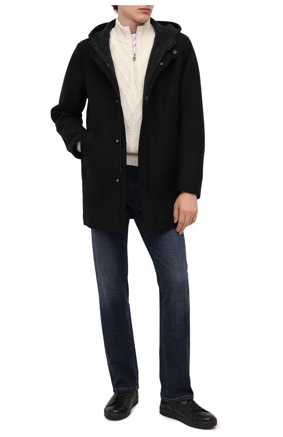 Мужские кожаные ботинки H`D`S`N BARACCO черного цвета, арт. CARTER.CMN.2* | Фото 2
