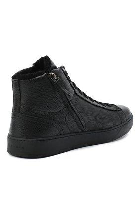 Мужские кожаные ботинки H`D`S`N BARACCO черного цвета, арт. CARTER.CMN.2* | Фото 4