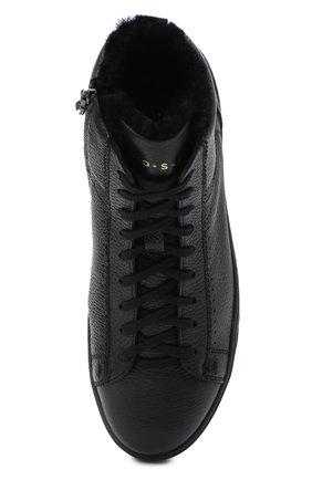 Мужские кожаные ботинки H`D`S`N BARACCO черного цвета, арт. CARTER.CMN.2* | Фото 5