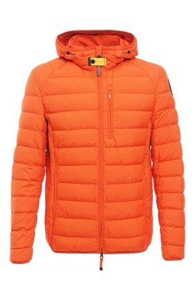 Мужская пуховая куртка last minute PARAJUMPERS оранжевого цвета, арт. SL02/LAST MINUTE | Фото 1