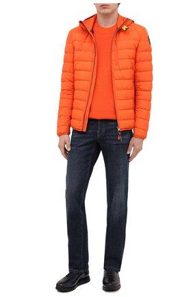 Мужская пуховая куртка last minute PARAJUMPERS оранжевого цвета, арт. SL02/LAST MINUTE | Фото 2