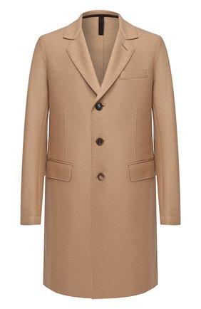 Мужской шерстяное пальто HARRIS WHARF LONDON бежевого цвета, арт. C9113MLK | Фото 1