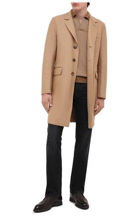Мужской шерстяное пальто HARRIS WHARF LONDON бежевого цвета, арт. C9113MLK | Фото 2