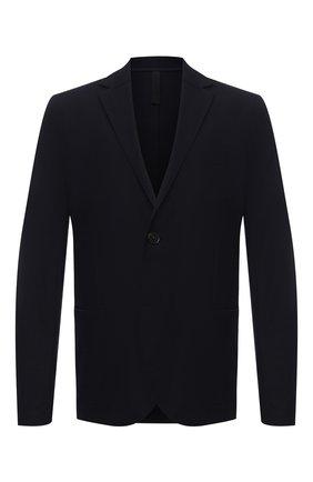 Мужской шерстяной пиджак HARRIS WHARF LONDON темно-синего цвета, арт. C7G27MYM | Фото 1