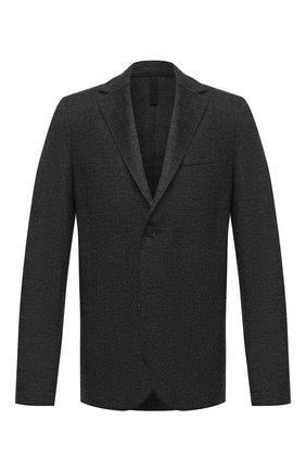 Мужской шерстяной пиджак HARRIS WHARF LONDON темно-серого цвета, арт. C8B22MGN | Фото 1