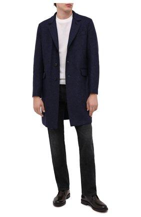 Мужские кожаные ботинки W.GIBBS темно-коричневого цвета, арт. 3169005/0215 | Фото 2