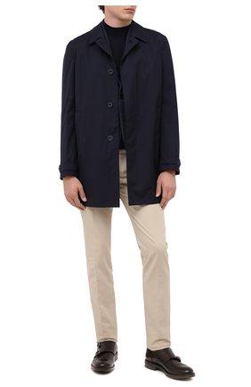 Мужские кожаные монки W.GIBBS темно-коричневого цвета, арт. 3169013/0214 | Фото 2
