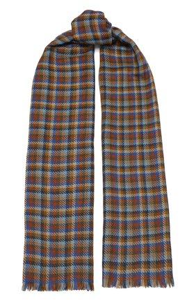 Мужской шарф из кашемира и шелка LORO PIANA разноцветного цвета, арт. FAL2933 | Фото 1