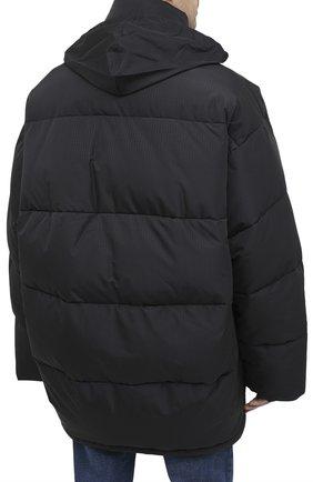 Мужская утепленная куртка BALENCIAGA черного цвета, арт. 621982/TYD33 | Фото 6