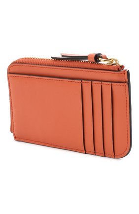 Женский кожаный футляр для кредитных карт CHLOÉ светло-коричневого цвета, арт. CHC19UP059A87 | Фото 2