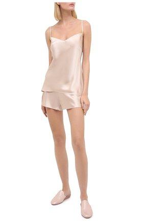 Женская шелковая пижама MARJOLAINE кремвого цвета, арт. ODON-3SOI5003 | Фото 1