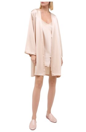 Женский халат MARJOLAINE кремвого цвета, арт. Laser | Фото 2