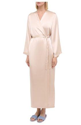 Женский халат MARJOLAINE кремвого цвета, арт. Laurian | Фото 3