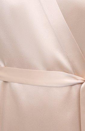 Женский халат MARJOLAINE кремвого цвета, арт. Laurian | Фото 5