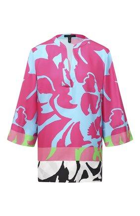 Женская шелковая туника ESCADA разноцветного цвета, арт. 5033518 | Фото 1