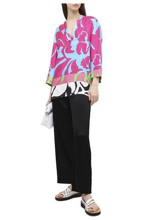 Женская шелковая туника ESCADA разноцветного цвета, арт. 5033518 | Фото 2