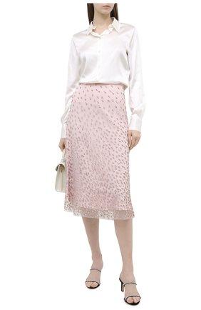 Женская юбка ESCADA розового цвета, арт. 5033671 | Фото 2