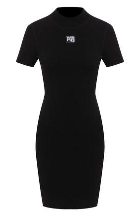 Женское платье ALEXANDER WANG черного цвета, арт. 4KC2206013 | Фото 1