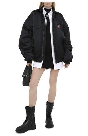 Женское платье ALEXANDER WANG черного цвета, арт. 4KC2206013 | Фото 2