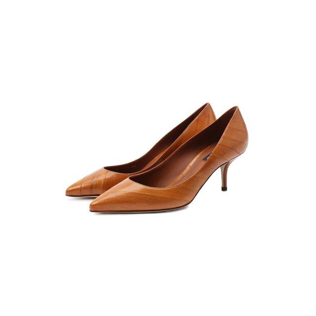 Кожаные туфли Cardinale Dolce & Gabbana