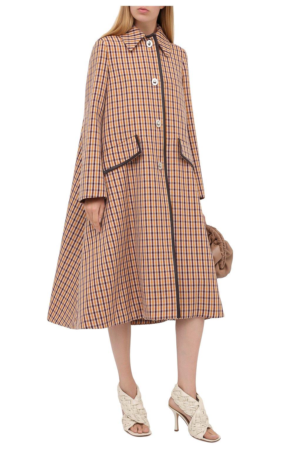 Женское шерстяное пальто LANVIN бежевого цвета, арт. RW-C0117K-4586-A20 | Фото 2