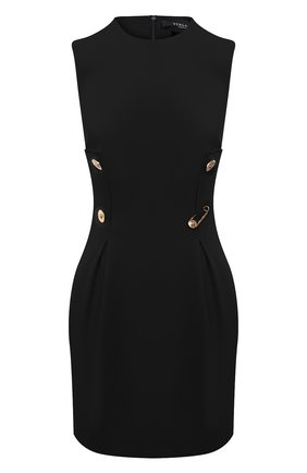 Женское платье из вискозы VERSACE черного цвета, арт. A87297/A208429 | Фото 1