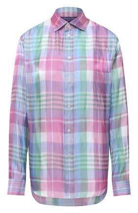 Женская рубашка RALPH LAUREN разноцветного цвета, арт. 290797832 | Фото 1