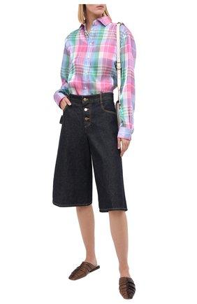 Женская рубашка RALPH LAUREN разноцветного цвета, арт. 290797832 | Фото 2