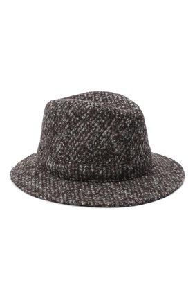 Женская шерстяная шляпа DOLCE & GABBANA серого цвета, арт. FH511A/FMMFV | Фото 1