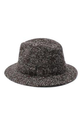 Женская шерстяная шляпа DOLCE & GABBANA серого цвета, арт. FH511A/FMMFV | Фото 2