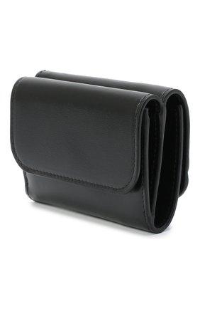 Женский кожаный футляр для кредитных карт chloe c CHLOÉ черного цвета, арт. CHC19UP058A37 | Фото 2