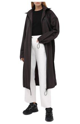 Женские комбинированные кроссовки KENZO черного цвета, арт. FA62SN300L69 | Фото 2