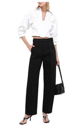 Женские кожаные мюли ALEXANDER WANG черного цвета, арт. 30C220S024 | Фото 2