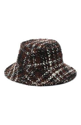 Женская шерстяная шляпа DOLCE & GABBANA разноцветного цвета, арт. FH512A/FQMHG | Фото 1
