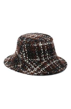 Женская шерстяная шляпа DOLCE & GABBANA разноцветного цвета, арт. FH512A/FQMHG | Фото 2