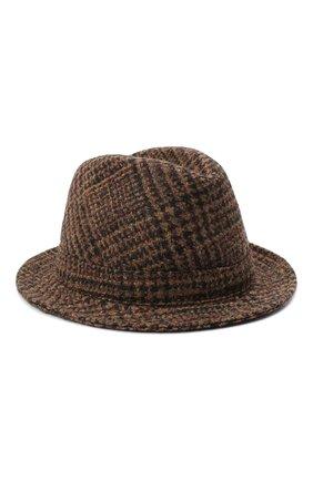Женская шерстяная шляпа DOLCE & GABBANA коричневого цвета, арт. FH430A/FQMH8   Фото 1