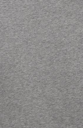 Детская хлопковая водолазка ERMANNO SCERVINO серого цвета, арт. 47I TS06 JEA/10-16 | Фото 3