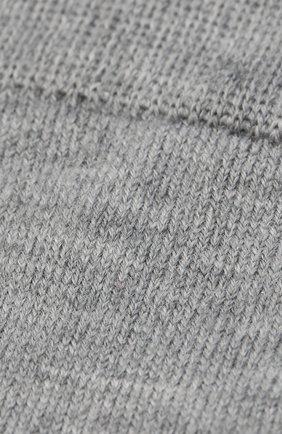 Детские носки LA PERLA серого цвета, арт. 43877/1-3 | Фото 2