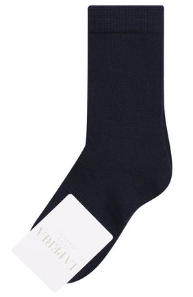 Детские носки LA PERLA синего цвета, арт. 43877/4-6 | Фото 1