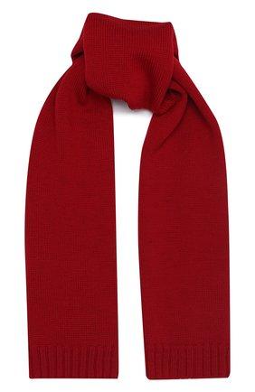 Детский шерстяной шарф DOLCE & GABBANA красного цвета, арт. LBKA47/JAVWK | Фото 1